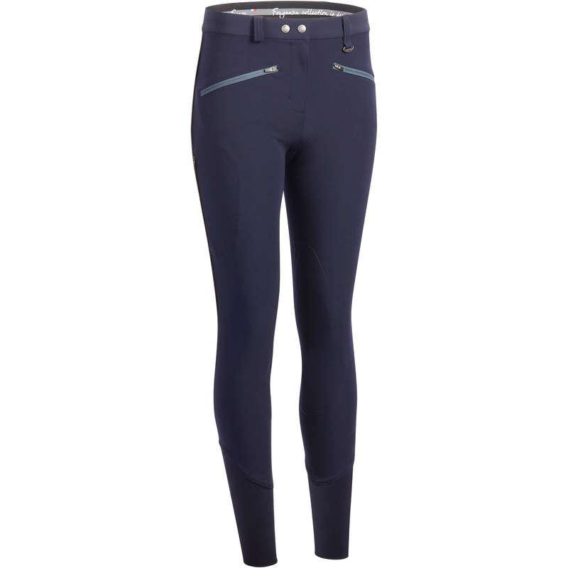 Îmbrăcăminte echitație vreme caldă Echitatie - Pantalon Training vară Damă FOUGANZA - Echitatie