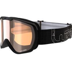 Ski- en snowboardbril dames G-TMAX 400 slecht weer zwart 2018