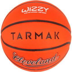 Balón de baloncesto niño Wizzy Cleveland naranja talla 5.