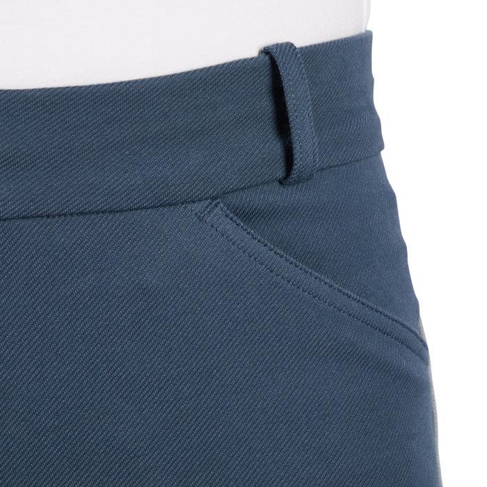 Reithose 140 Stripe Damen blaugrau