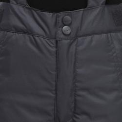 兒童滑雪長褲PNF 500 - 黑色