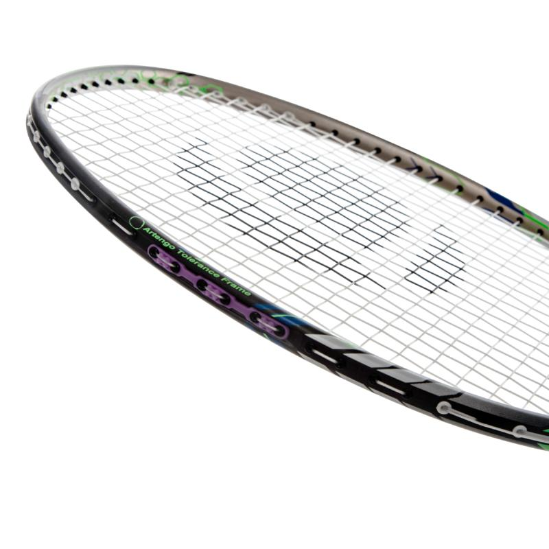 BR860 Badminton Racket - Gold Orange
