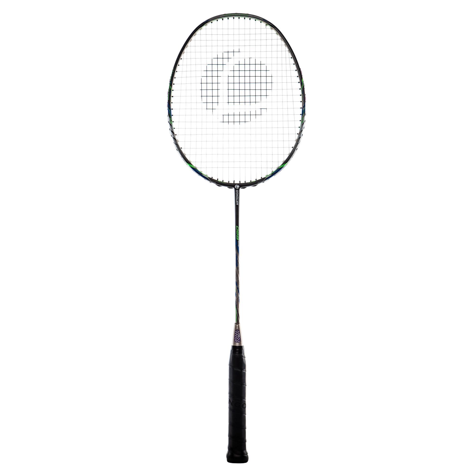 Artengo Badmintonracket BR860 voor volwassenen klassiek goud