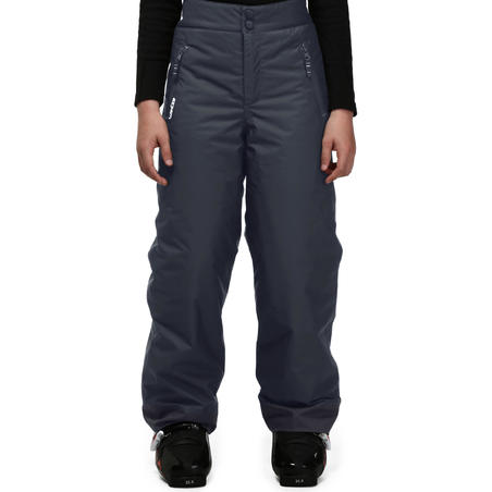 CHILDREN'S SKI TROUSERS SKI-P PA 100 DARK GREY
