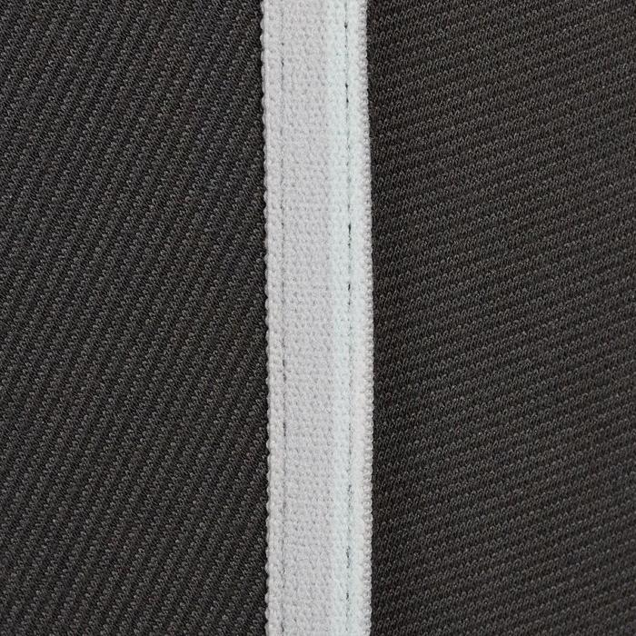 Reithose 140 Stripe Damen dunkelgrau
