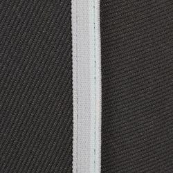 Rijbroek voor dames 140 Stripe met antislip inzetstukken donkergrijs