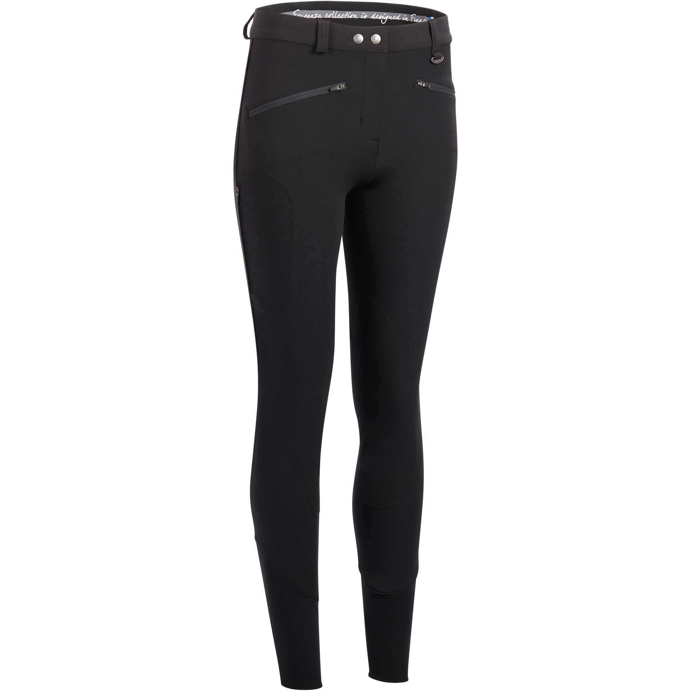 Pantalon 500 Mesh Negru damă