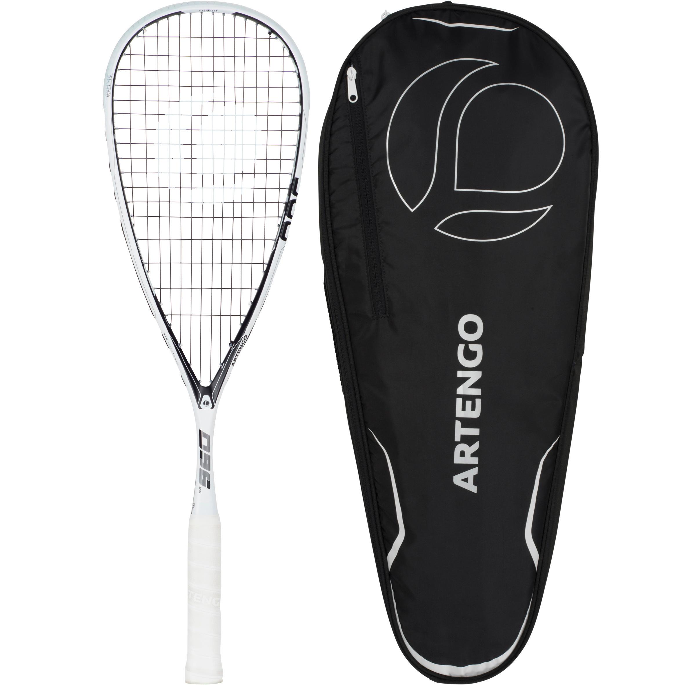 Artengo Set squashracket SR960 (racket SR960 + hoes met 3 rackets)