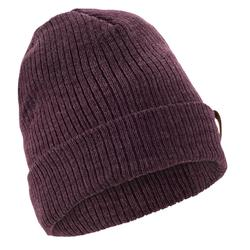 Fisherman Adult Ski Hat - Plum