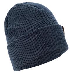 成人滑雪帽Fisherman - 海軍藍