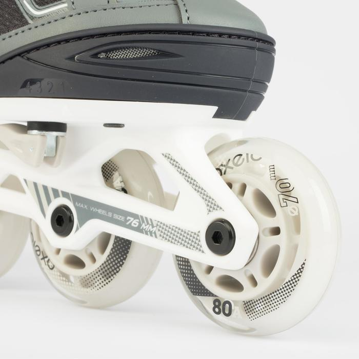 Inline Skates Inliner FIT 3 Fitness Kinder grau