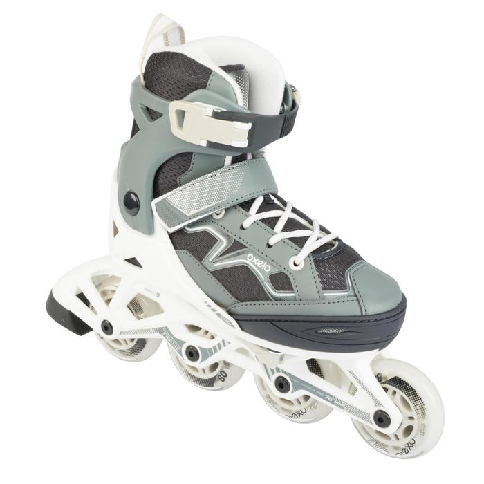 Roller fitness niños FIT3 JR gris