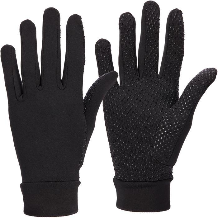 Rijhandschoenen voor dames 140 zwart