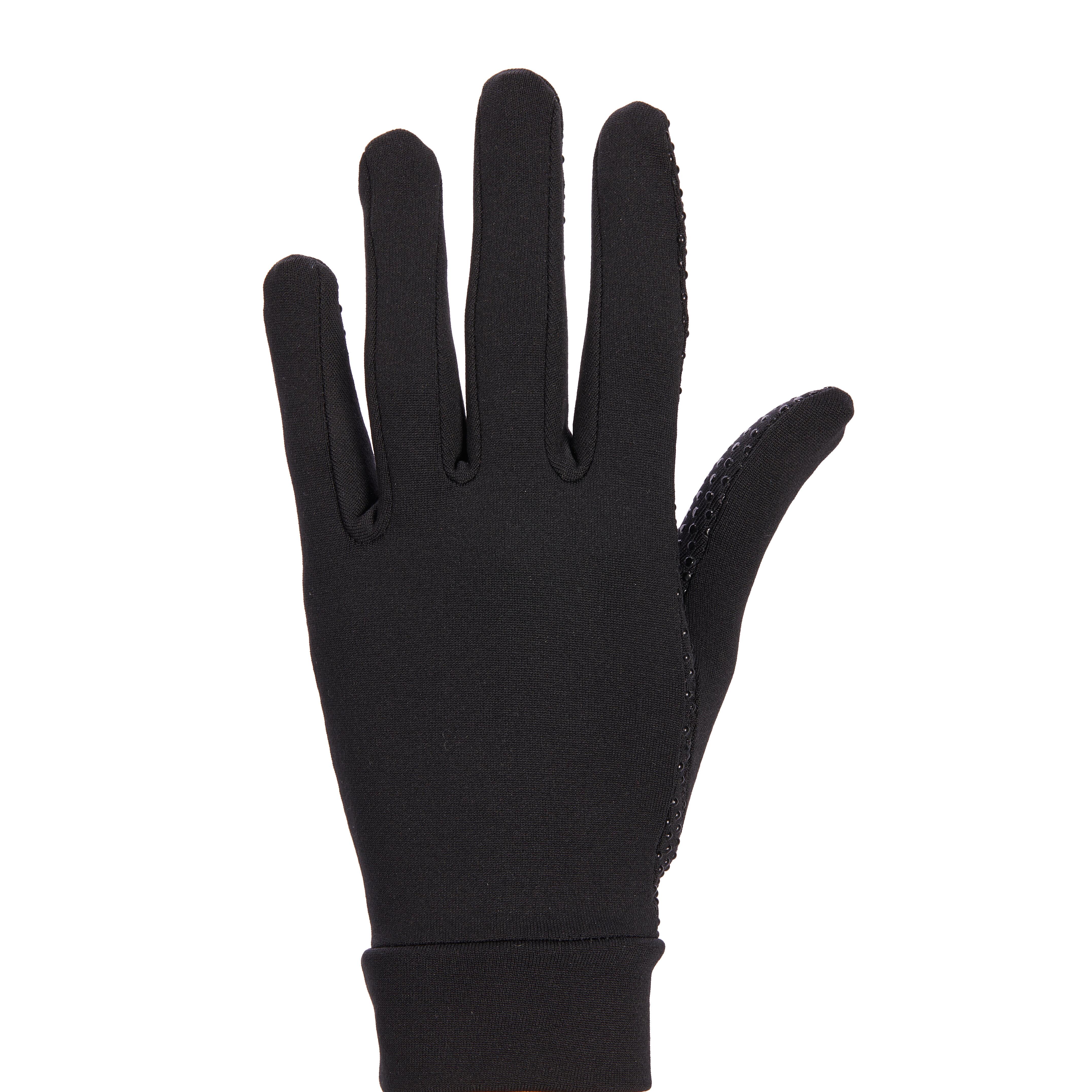 Fouganza Rijhandschoenen 140 volwassenen zwart