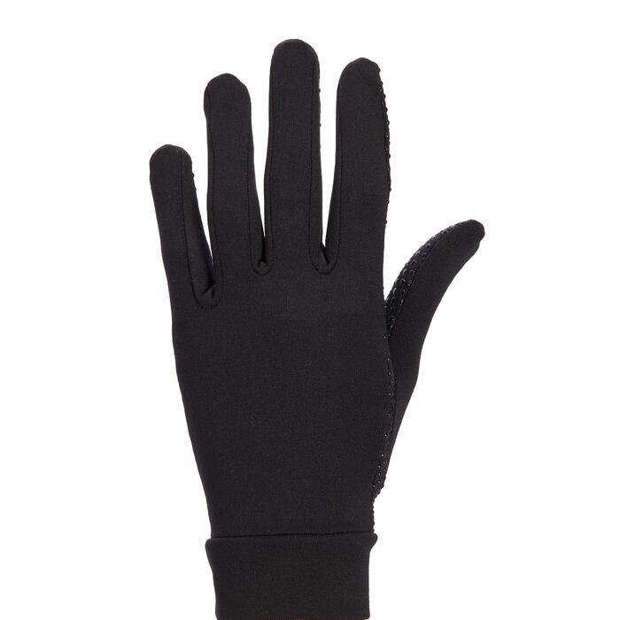 Rijhandschoenen 140 dames zwart
