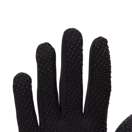 140 Women's Horseback Riding Gloves - Black