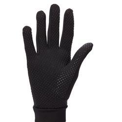140 Women's Horseback Riding Gloves - Black
