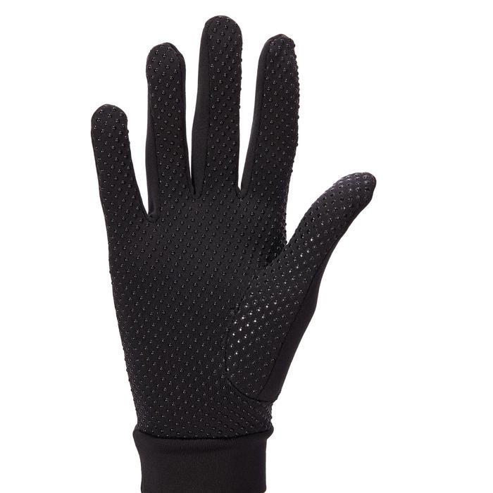 Rijhandschoenen 140 volwassenen zwart