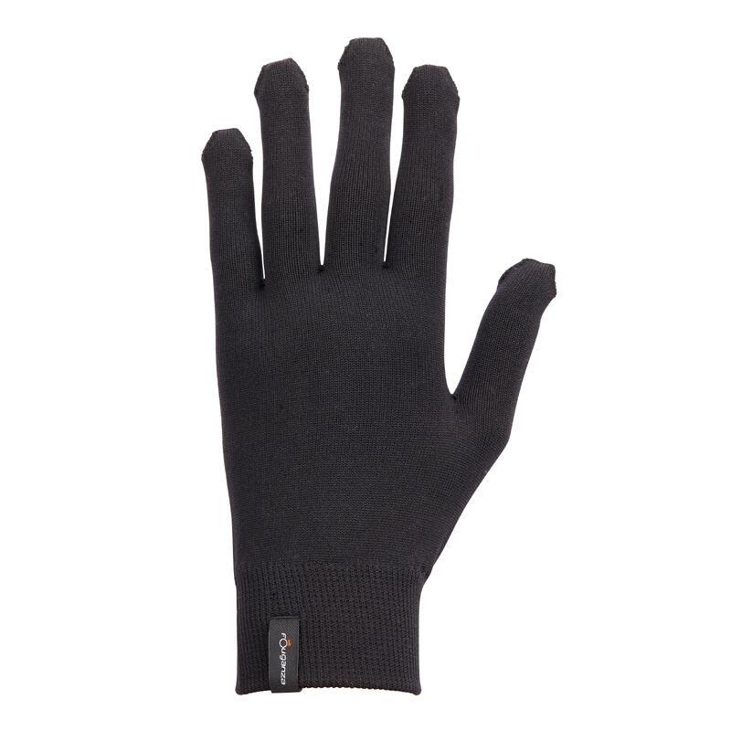 Gants d'équitation avec grip Femme - 100 noir
