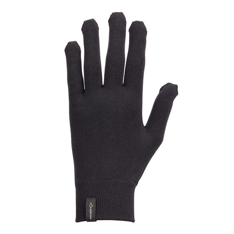 RIDHANDSKAR DAM Populärt - Handskar 100 svart FOUGANZA - Accessoarer