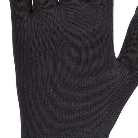 100 Women's Horseback Riding Gloves - Black