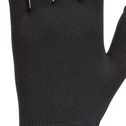 女款馬術手套100-黑色
