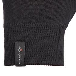 Rijhandschoenen voor dames 100 zwart