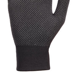 100 Women's Horse Riding Gloves - Black