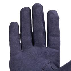 Reithandschuhe Basic Kinder marineblau