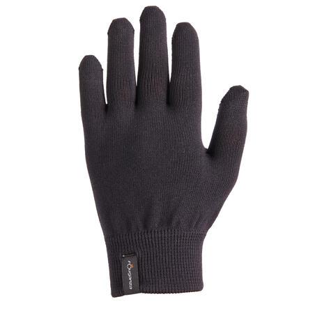 100 Children's Horse Riding Gloves - Black