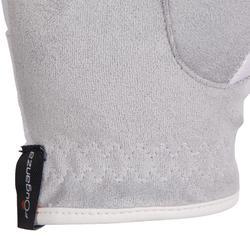 Rijhandschoenen Basic voor kinderen ruitersport wit