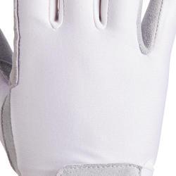 Basic Children's Riding Gloves - White