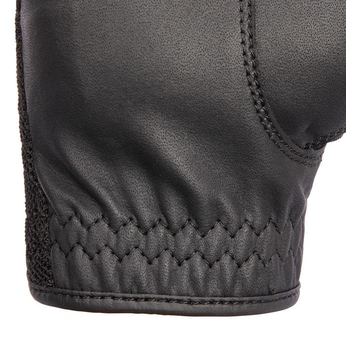 Gants équitation adulte ROECKL MADRID micro mesh noir et navy - 1256200