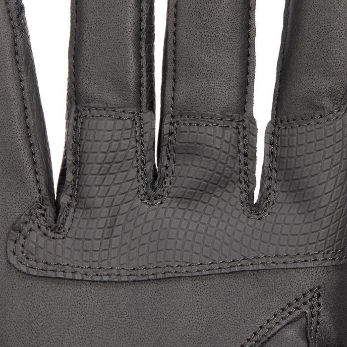 Gants équitation adulte ROECKL MADRID micro mesh noir et navy - 1256210