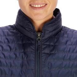 Colete Sem Mangas Equitação 100 Mulher Azul-marinho