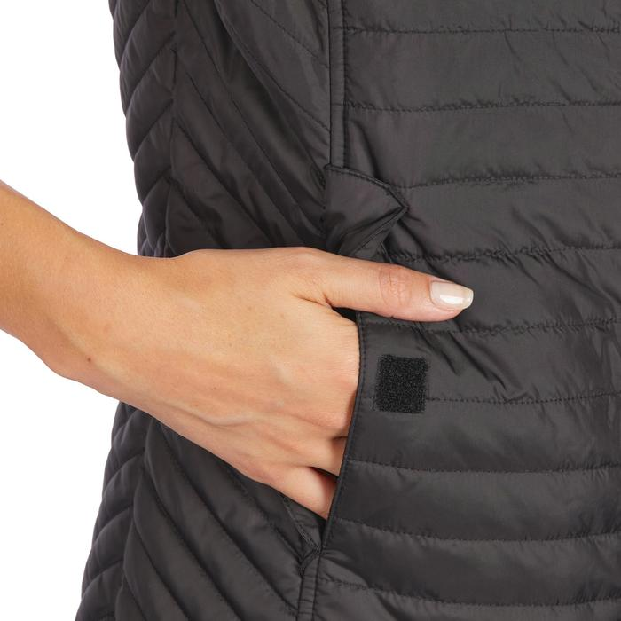 Bodywarmer ruitersport dames 100 zwart