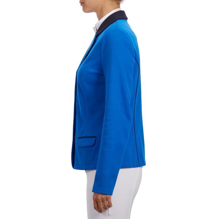 Veste de Concours équitation femme COMP100 bleu roi - 1256257