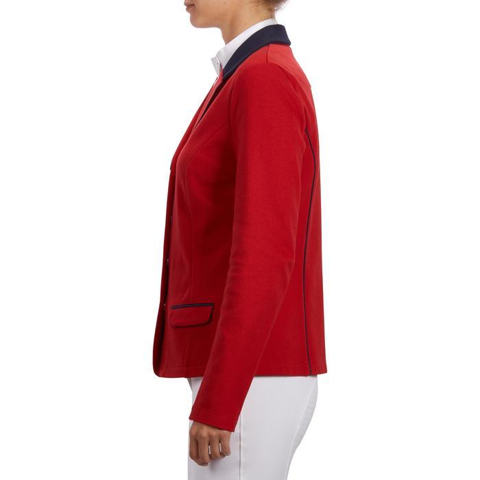 Veste de Concours équitation femme COMP100 bleu roi - 1256268