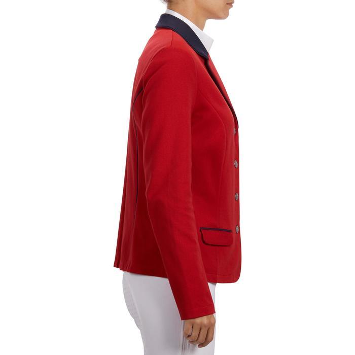 Veste de Concours équitation femme COMP100 bleu roi - 1256269