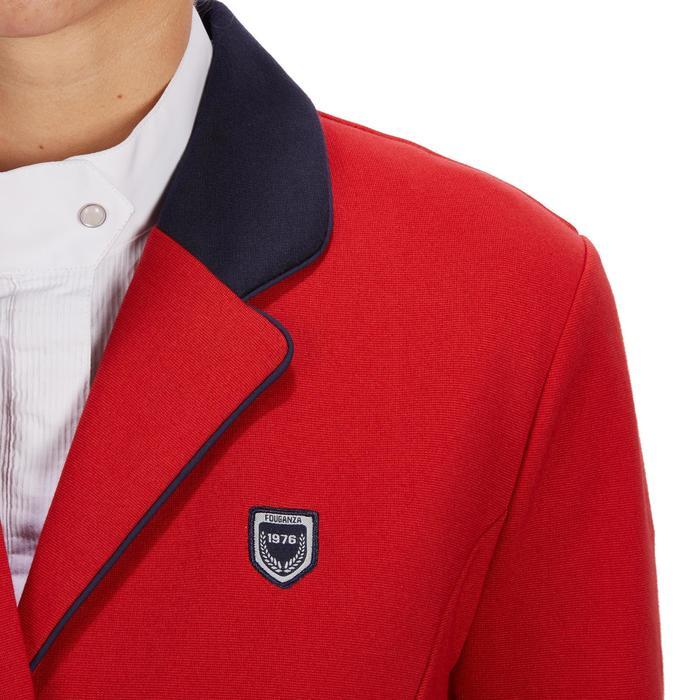 Veste de Concours équitation femme COMP100 bleu roi - 1256274