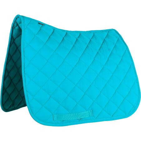 100 Horse Riding Saddle Cloth for Shetland Pony - Turquoise
