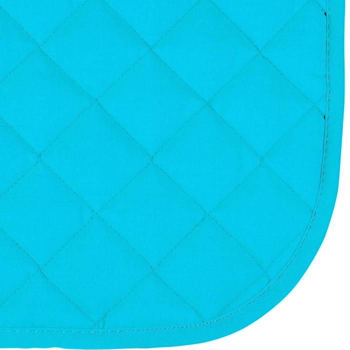Zadeldek ruitersport shetlandpony's 100 turquoise