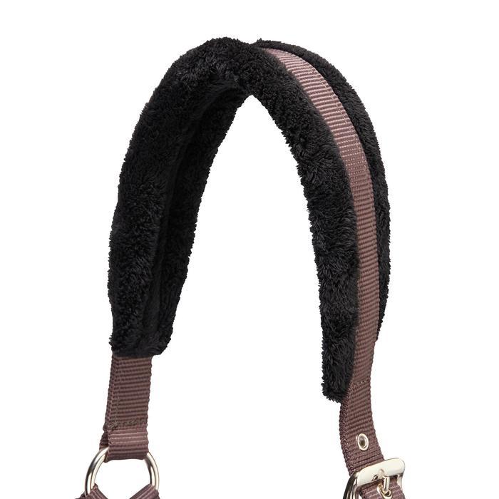 Cabestro + ronzal equitación poni y caballo WINER marrón