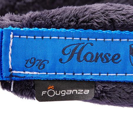 סט ראשייה + חבל הובלה Winner לסוסים או סוסי פוני - כחול רויאל
