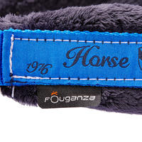 Ensemble licol + longe équitation cheval et poney WINNER bleu roi