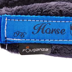 Pack Cabestro + ronzal de equitación caballo y poni WINNER azul regio