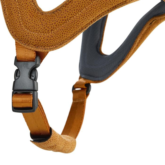 Casque équitation C700 gris/camel