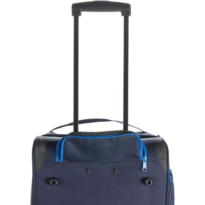 Sac de transport à roulettes équitation TROLLEY 80 L bleu et - 1256393