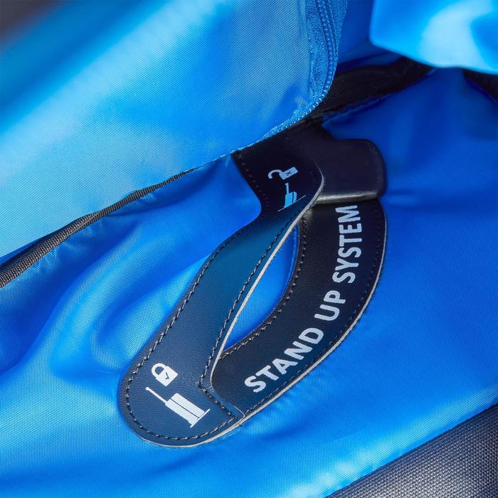 Sac de transport à roulettes équitation TROLLEY 80 L bleu et - 1256399