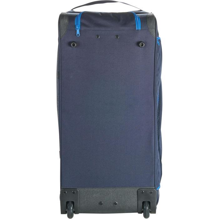 Sac de transport à roulettes équitation TROLLEY 80 L bleu et - 1256401